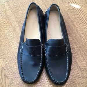 Cole Haan black driving loafer moccasins Sz 10